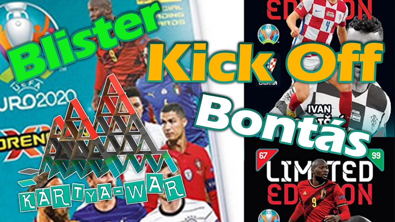 PANINI UEFA EURO 2020 Adrenalyn Kick off 2021 Blister Opening - Limited Edition