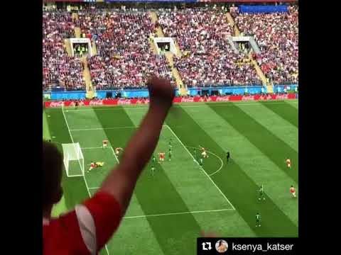 The First Goal of FIFA World Cup Russia 2018- Golczynski