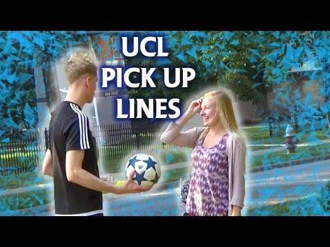 UEFA Champions League Pick Up Lines on girls