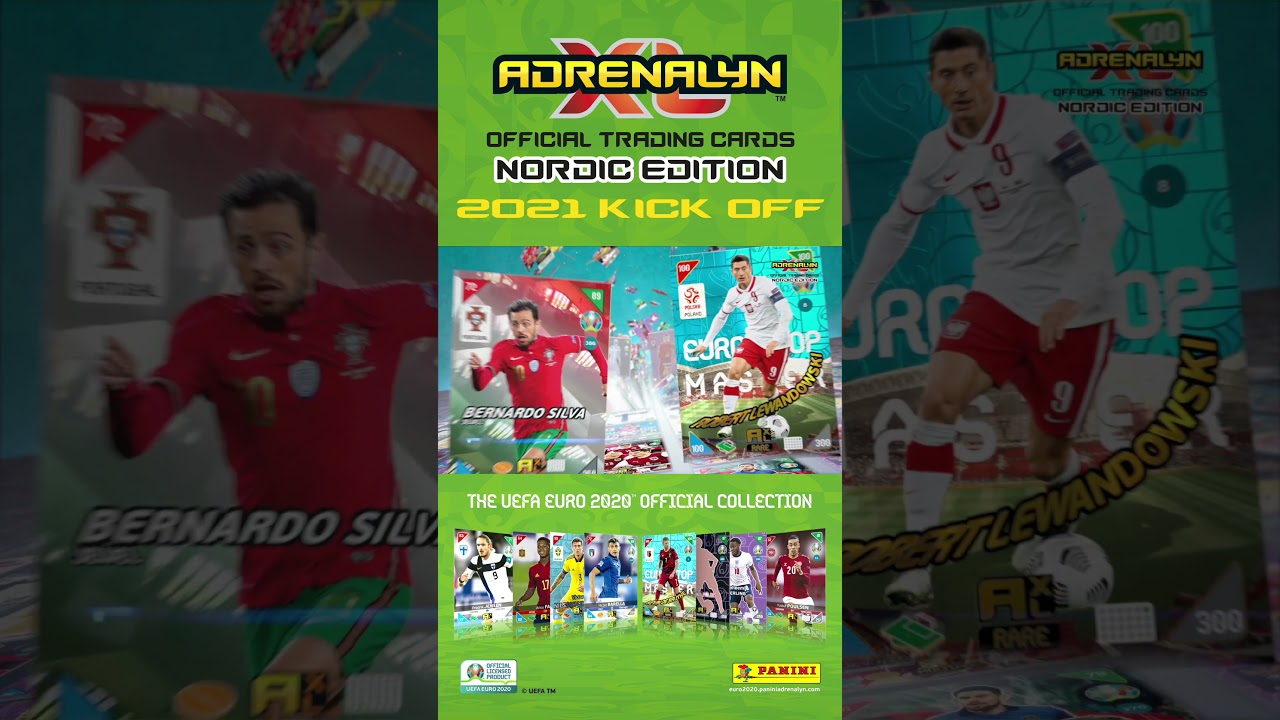 UEFA EURO 2020™ Adrenalyn XL™ 2021 Kick Off Nordic Edition Online Game Official Video (portrait 2)
