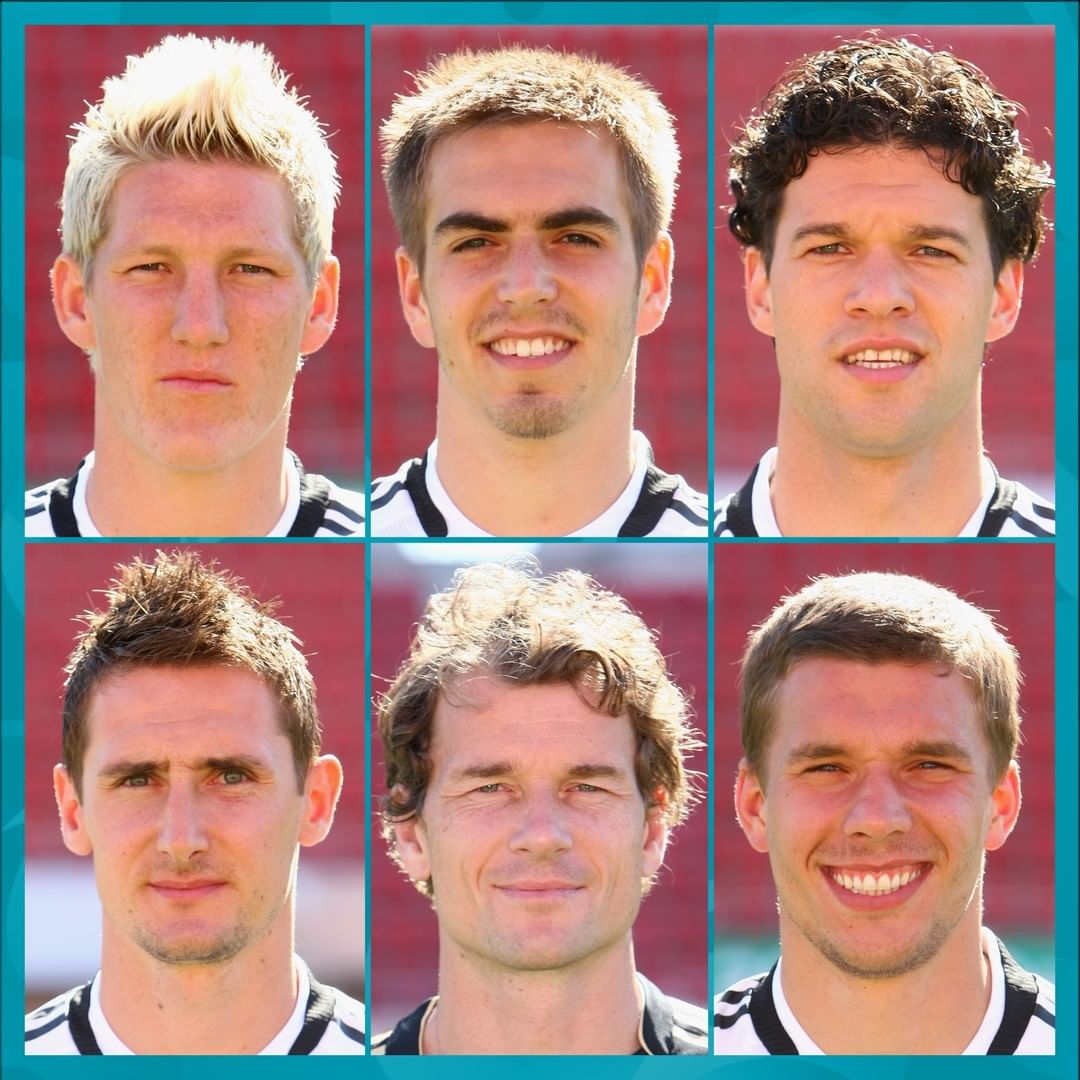 Pick your 2 favourite German players here... ...