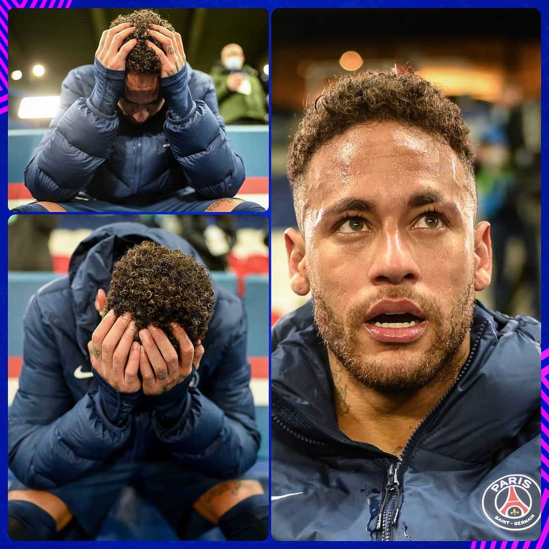 Neymar overwhelmed with emotion  Describe his performance tonight ...