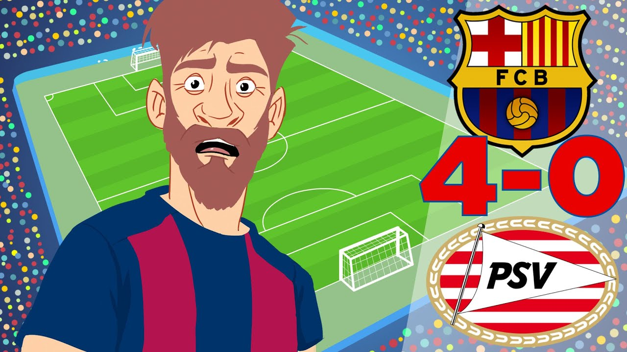 Barcelona vs PSV 4-0 All Goals and Highlights - UEFA Champions League 18/09/2018
