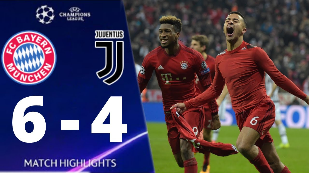 Bayern Munich vs Juventus 6-4 UEFA Champions League 2016 All Goals And Extended Highlights