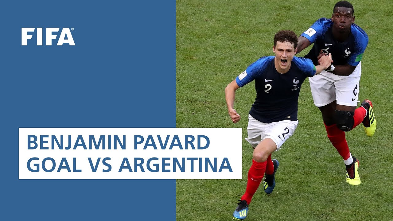Benjamin Pavard goal vs Argentina | ALL THE ANGLES | 2018 FIFA World Cup