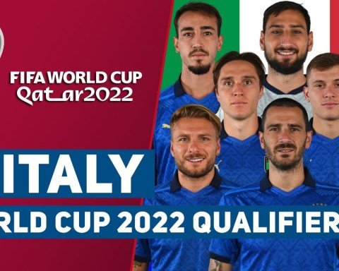 Italy Squad World Cup 2022 Qatar Qualifier