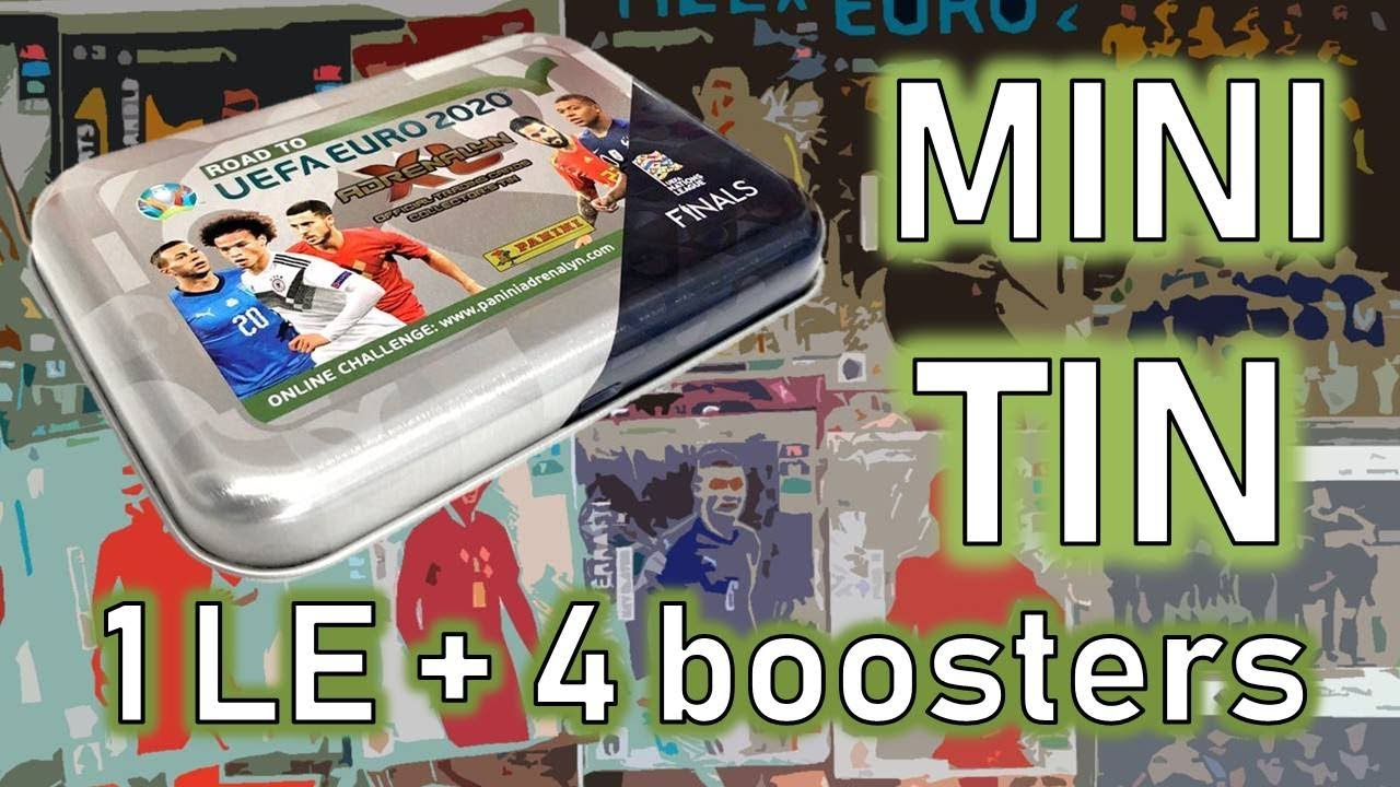 MINI-TIN with more TOP MASTER? ? Road To UEFA Euro 2020 Adrenalyn XL