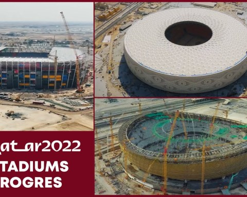 Qatar Stadiums Progress 21 April 2021 - FIFA World Cup 2022