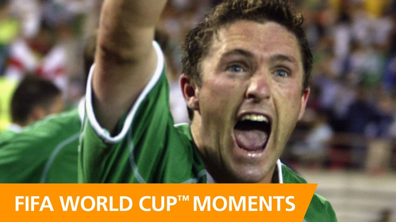Robbie Keane on goal vs Germany | 2002 FIFA World Cup