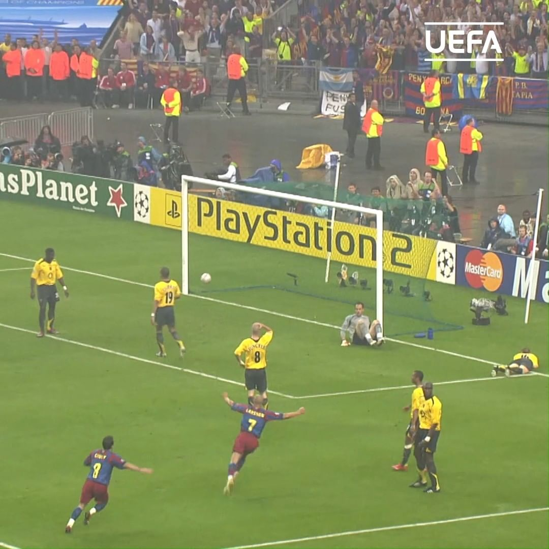 Who was your man of the match in 2006   15 years since Barcelona became Europea...
