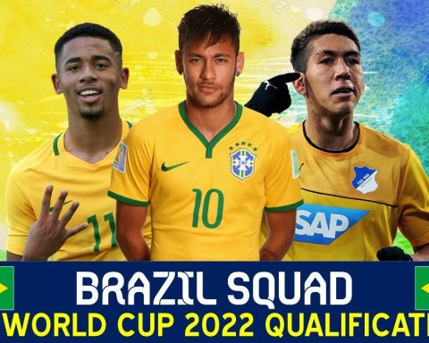 BRAZIL SQUAD FOR FIFA WORLD CUP 2022 QUALIFICATION - CONMEBOL QUALIFIERS JUNE 2021