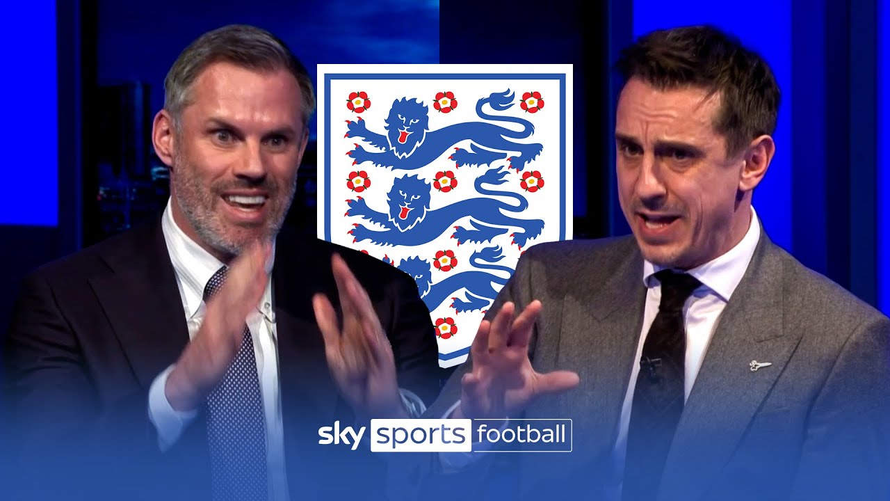 Carragher and Neville CLASH picking their England Euro 2020 squads! ??gbeng