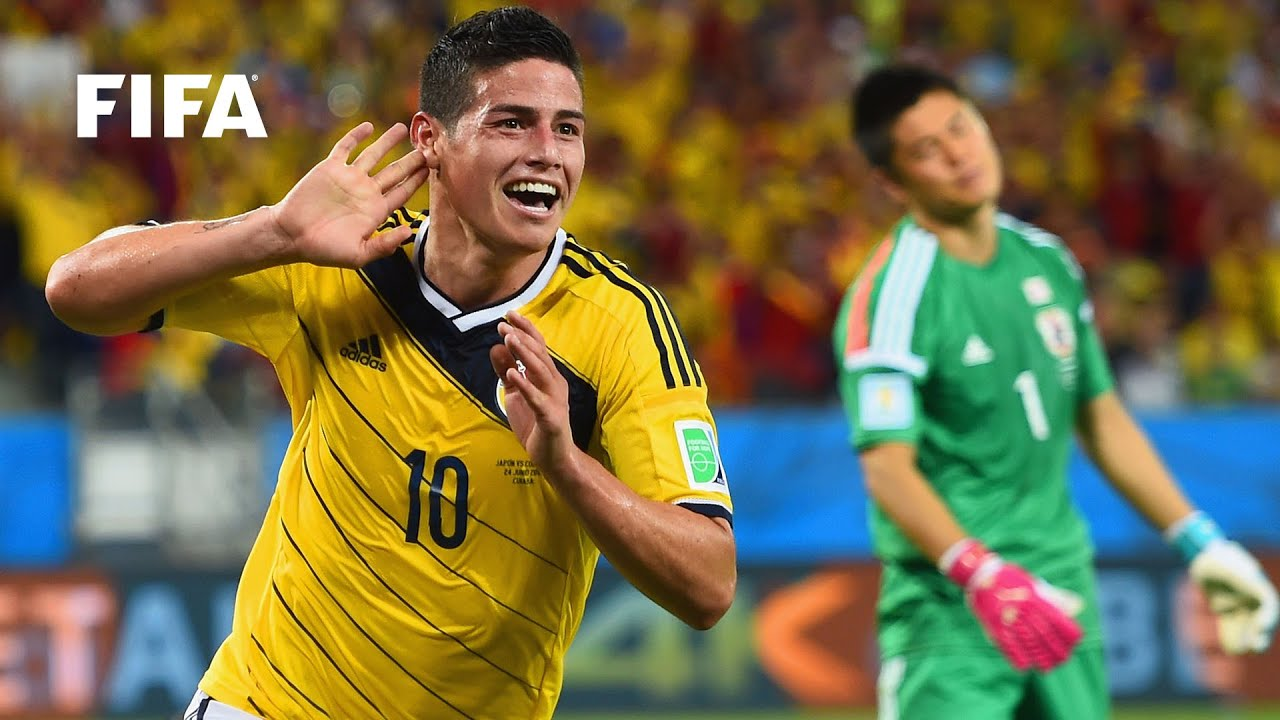 James Rodriguez goal vs Japan   ALL THE ANGLES   2014 FIFA World Cup