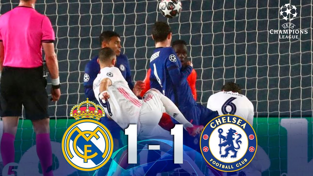 Real Madrid vs Chelsea [1-1] | GOLES | Champions League | Semifinal - IDA