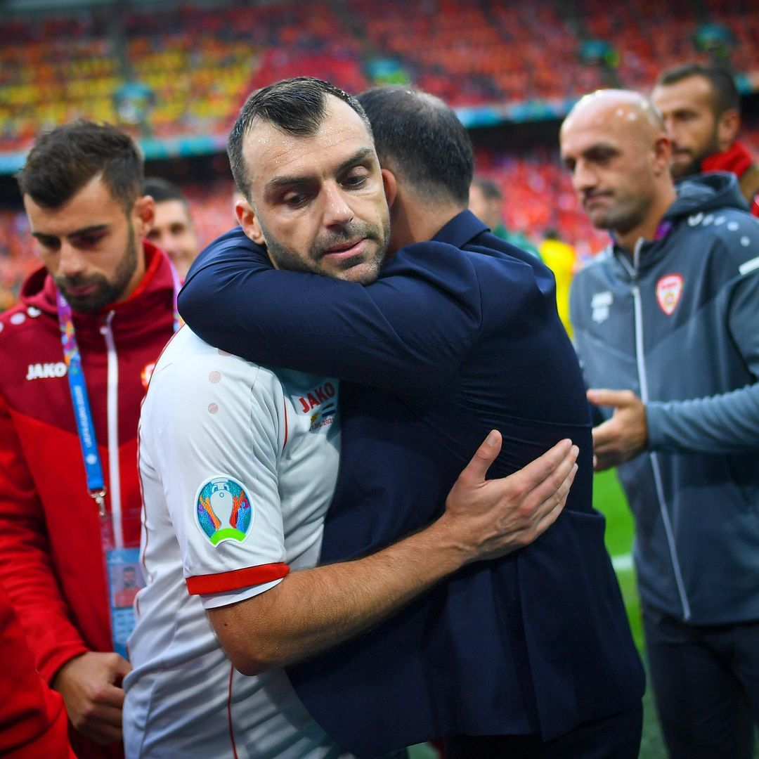 122 and out. Goran Pandev has played his final game for North Macedonia   ...