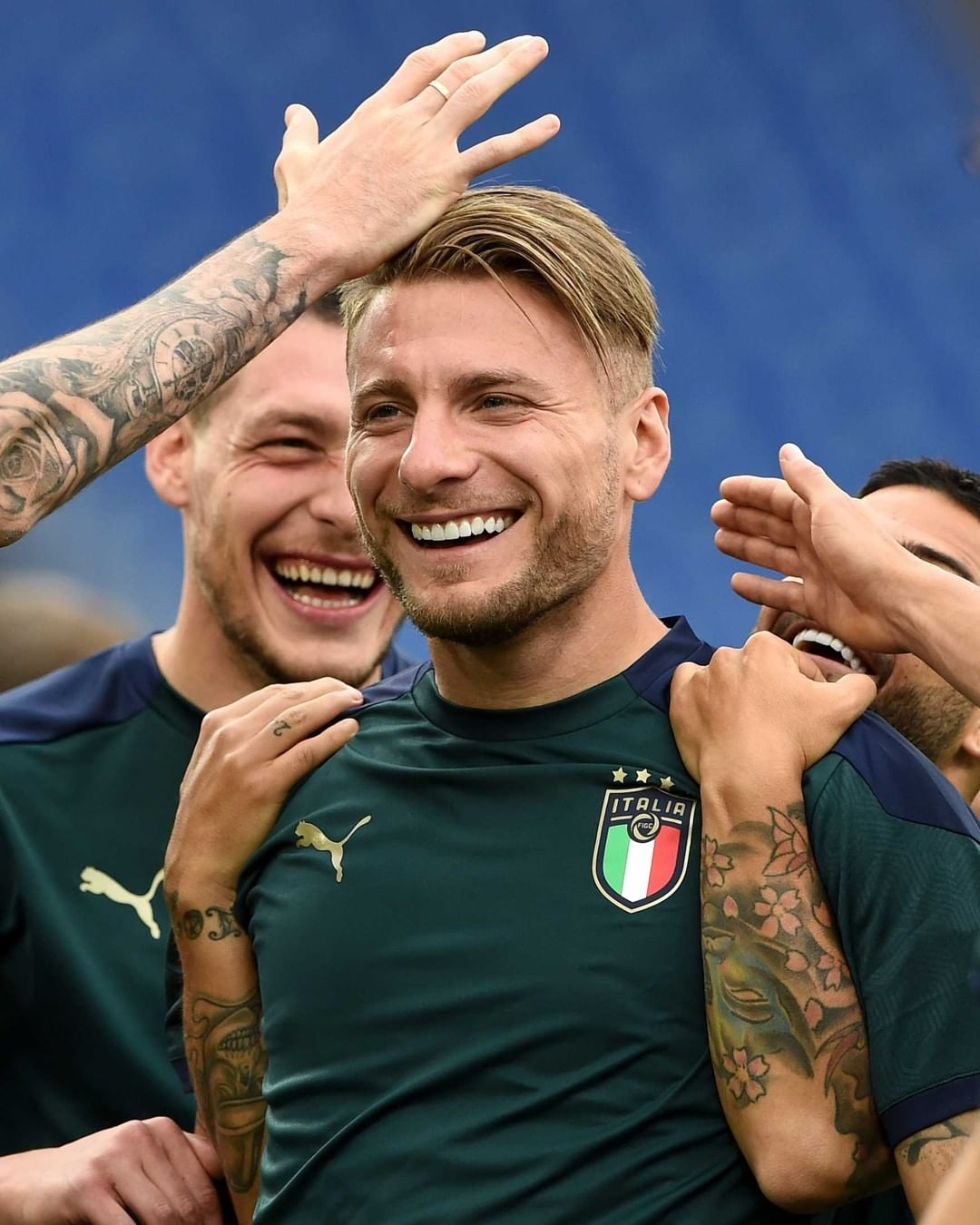 Italy train on the eve of  Will they get off to a winning start? ...