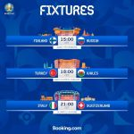 Matchday 2 begins in Russia! Who are you backing?    Saint Petersburg, Russia  B...