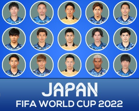 JAPAN SQUAD FIFA WORLD CUP 2022 QUALIFIERS ASIA