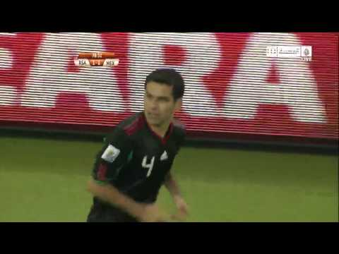 World Cup 2010   South Africa Vs. Mexico   Goal: R.Marquez   11.06.2010   HD Quality
