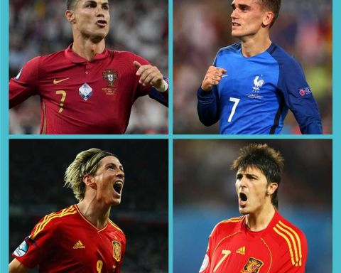 The last 4 top scorers in EURO competition  Who had the most impressive tournam...