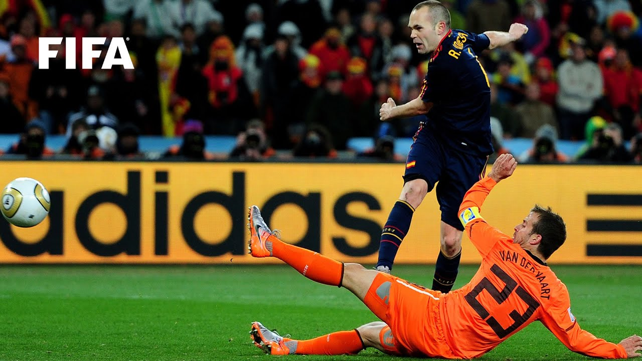 Andres Iniesta goal vs Netherlands | ALL THE ANGLES | 2010 FIFA World Cup