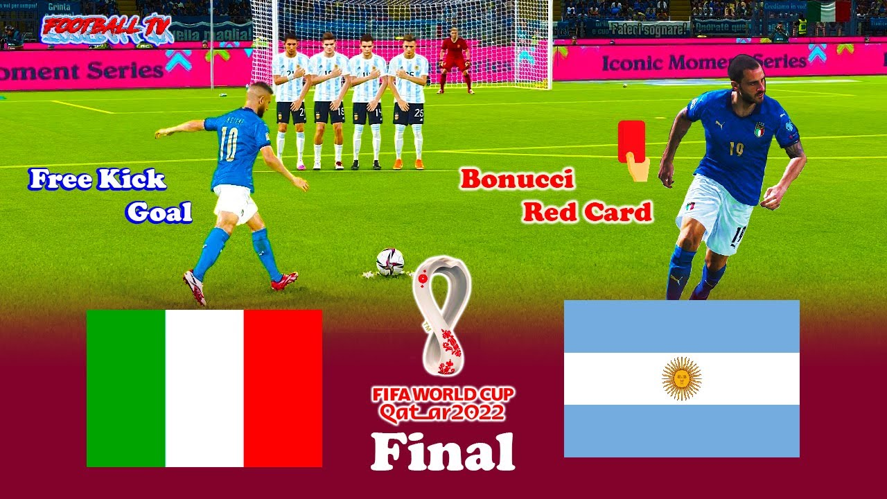ITALY vs ARGENTINA - FIFA World Cup 2022 Final - Full Match - PES 2021 eFootball