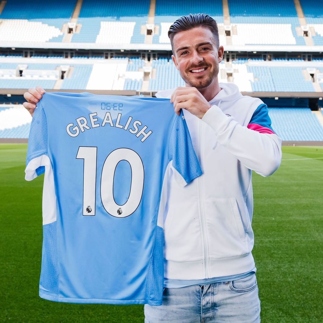 """Grealish: """"I look around the changing room and there's so much talent and so mu..."""