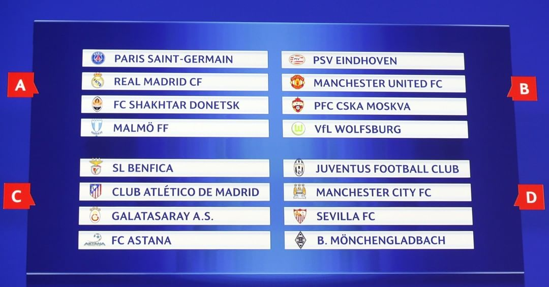 Group stage draw through the years   Which season would you love to watch again?...