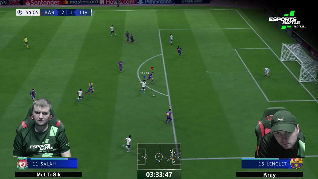 2020-09-28 - Night Premier League and Night Champions League Cyber Cup Stream 2
