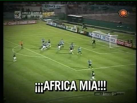 Argentina 1 - Uruguay 0..... The Goal Of World Cup 2010 South Africa 14.10.2009