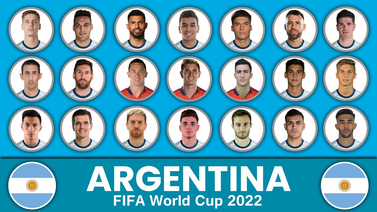 Argentina Football Squad in FIFA World Cup 2022 ? Argentina Football Team ? Argentina Football Squad