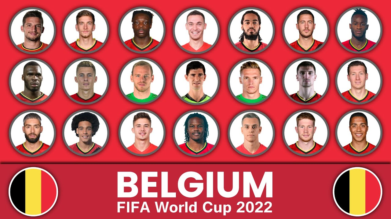 Belgium Football Squad in FIFA World Cup 2022 ? Belgium Football Team ? FIFA World Cup 2022