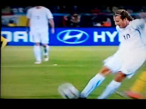 Diego Forlan GOAL  VS South Africa at the World Cup