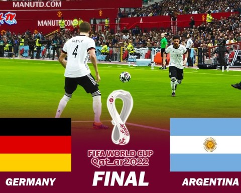 Germany vs Argentina Final - FIFA World Cup 2022 - Full Match All Goals - PES 2021 eFootball