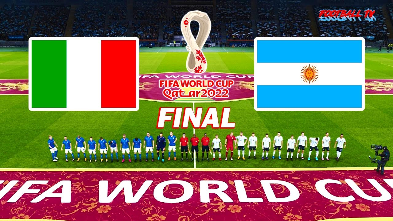 Italy vs Argentina - Final FIFA World Cup 2022 - Full Match All Goals - PES 2021 eFootball Gameplay