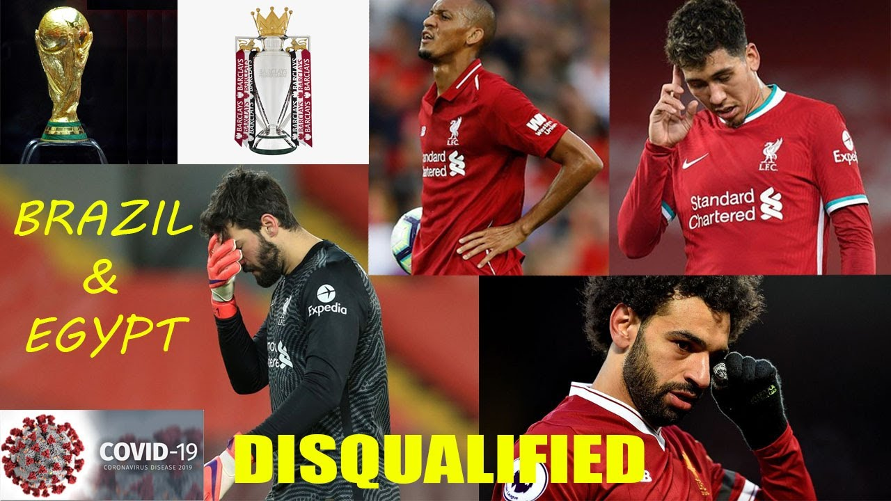 Liverpool refuses Egypt & Brazil FIFA World Cup 2022 | Egypt & Brazil | Disqualified