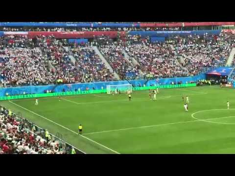 Morocco own goal against Iran (2018 World Cup Russia)