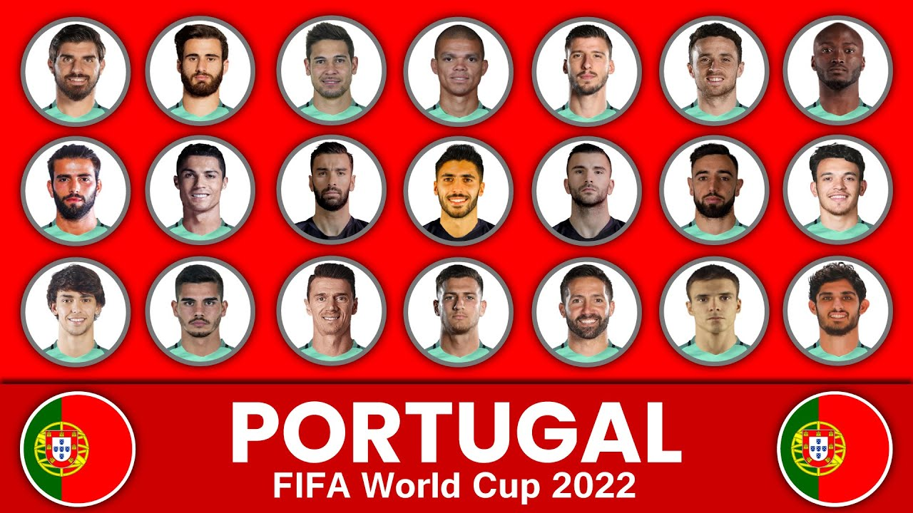Portugal Football Squad in FIFA World Cup 2022 ? Portugal Football Team ? FIFA World Cup 2022