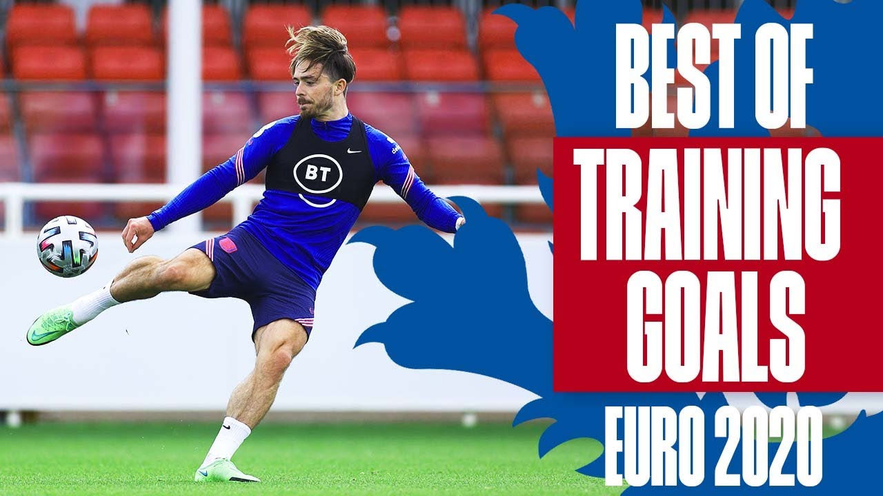 Sancho on FIRE, Grealish's Volley & Kane's Perfect Hat-trick   Best Of Training Goals   Euro 2020