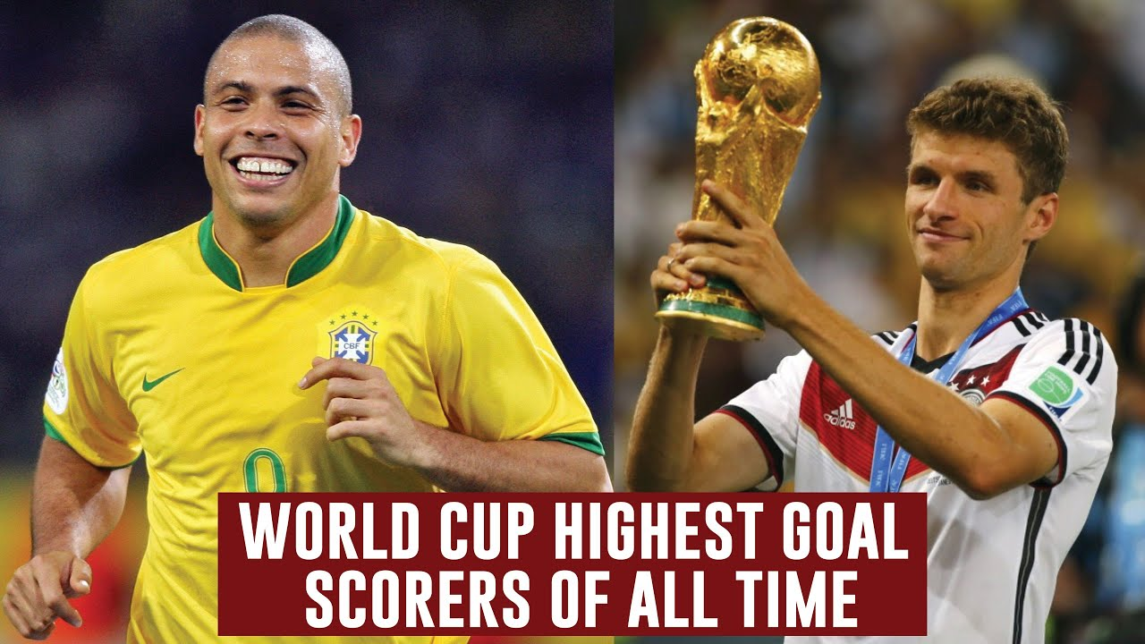 TOP 10 MEN'S FIFA WORLD CUP HIGHEST GOAL SCORERS OF ALL TIME