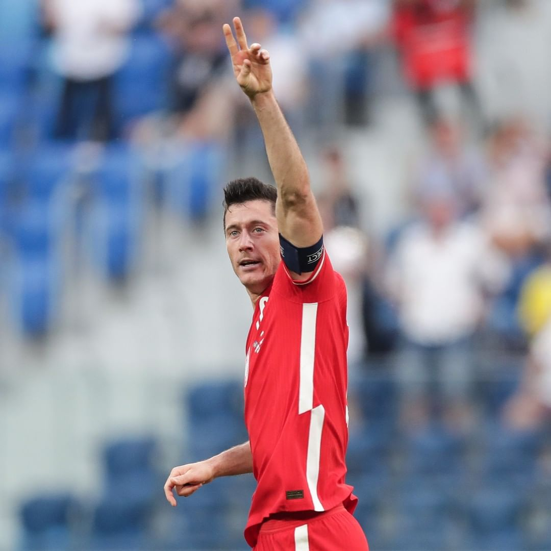 Unstoppable? Robert Lewandowski has scored in every game for club and country t...