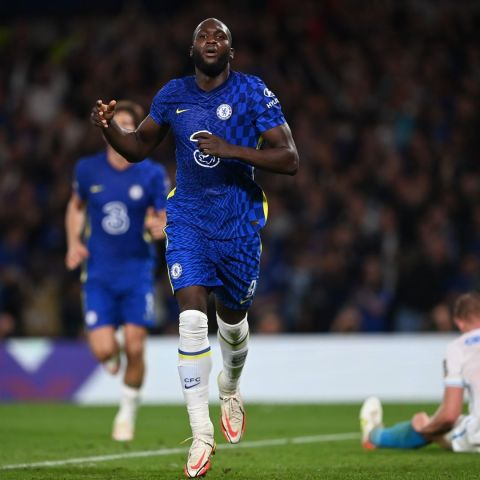 Lukaku has now scored 14 goals in his last 14 UEFA club competition matches    ...