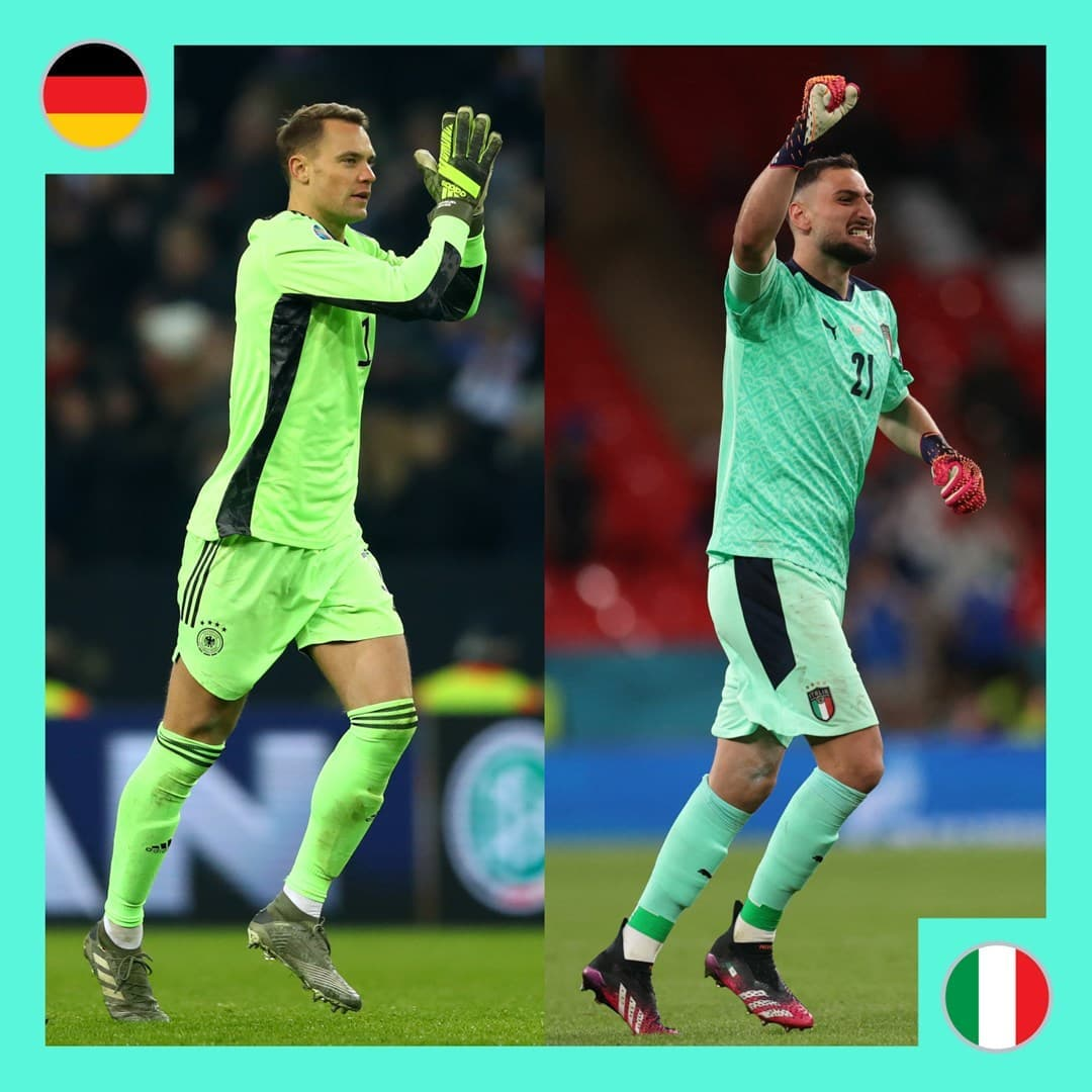 Neuer & Donnarumma in  action  Who's your favourite?    ...