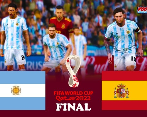 Argentina vs Spain   FIFA World Cup 2022 Final   Match eFootball PES 2021