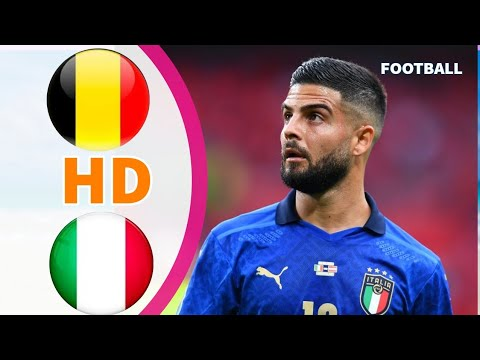 Belgium vs Italy Extended Highlights & All goals UEFA EURO 2020 HD - Prediction GAMEPLAY - pes 2021