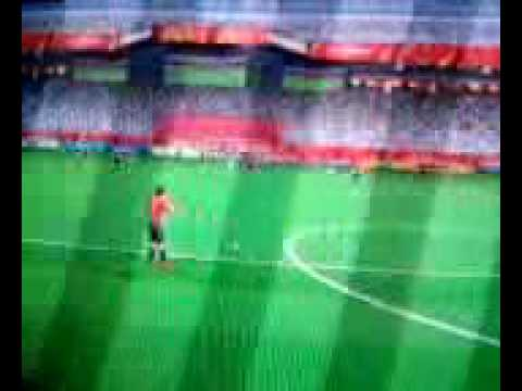 FIFA World Cup South Africa 2010 (Wii) - Amazing Free Kick Goal