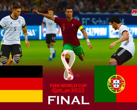 Germany vs Portugal - Final FIFA World Cup 2022 - Match eFootball PES 2021