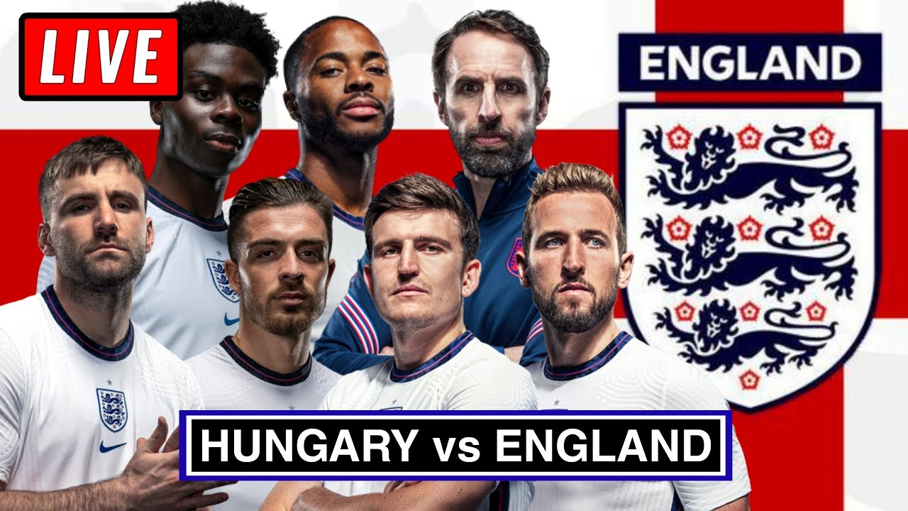 ? HUNGARY vs ENGLAND Live Stream - FIFA World Cup 2022 Qualifier Watch Along
