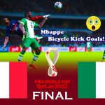 Nigeria vs France - Final FIFA World Cup 2022 - Match eFootball PES 2021 Gameplay