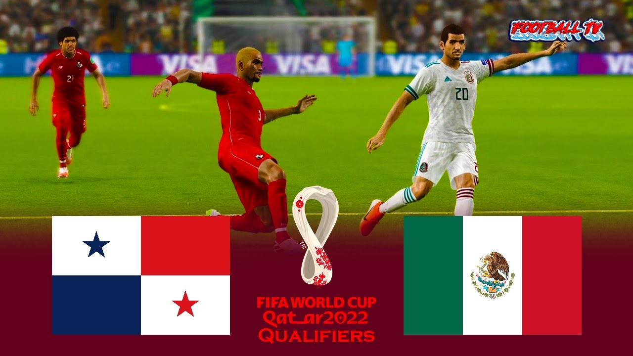 Panama vs Mexico   FIFA World Cup 2022 Qualifiers   Match eFootball PES 2021